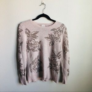 A New Day Floral Sweater
